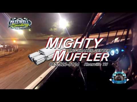 #11 Cody Smith - Winner Sportsman - 6-2-17 Tazewell Speedway - In-Car Camera