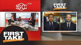 SportsCenter and Max remind Stephen A. his Rockets-Thunder prediction was wrong | First Take | ESPN