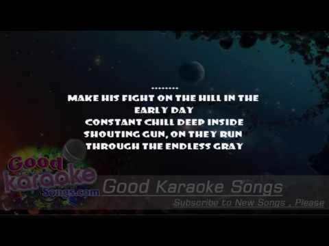 For Whom The Bell Tolls -  Metallica (Lyrics KAraoke) [ goodkaraokesongs.com ]