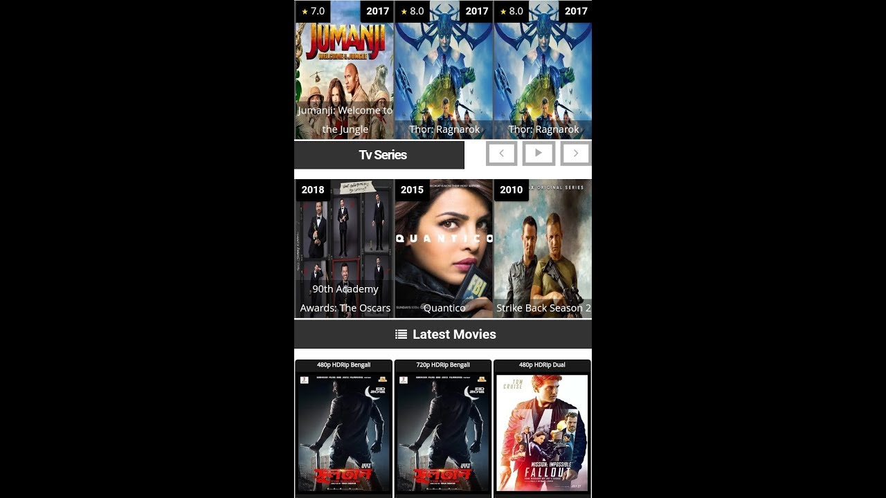 Top 5 website for downloading Latest movies in hindi dubbed