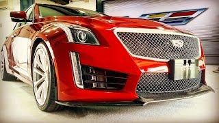 2016 cadillac cts-v test drive
