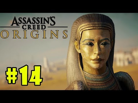 Assassin's Creed Origins: The Curse of the Pharaohs - Walkthrough - Part 14 - Gods or Creed HD |