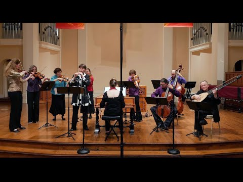 Vivaldi: Recorder Concerto in C Major RV 443 (flautino); Hanneke van Proosdij & Voices of Music 4K