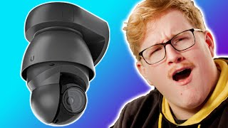 This is an absolute MONSTER!!! - Ubiquiti Protect G4 PTZ Camera