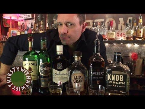 The Best Beginner's Guide to Whiskey, Whisky, Bourbon & Rye...Ever!