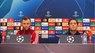Συνέντευξη Τύπου (Ολυμπιακός - Ερυθρός Αστέρας) / Press Conference (Olympiacos - Crvena zvezda)