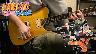 Naruto: Shippuden OP 15 『Guren - DOES』{TABS} Guitar Cover ナルト- 疾風伝