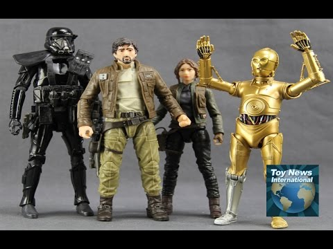 """Star Wars Black Series 6"""" Target Exclusive Rogue One 3-Pack & Walgreens C-3PO Figures Review"""