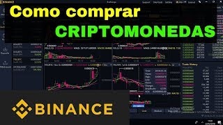COMO COMPRAR CRIPTOMONEDAS en Binance 2019  [Trading crypto] Scalping, intradía,swing
