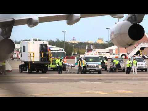 Iberia Airliner Diverts For Sick Passenger Bermuda March 15 2012