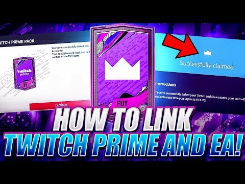 LINK EA AND TWITCH PRIME ACCOUNT FOR FREE PACKS! FIFA 20