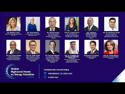 Global High-Level Forum on Energy Transition: Science and raising ambition towards COP 26