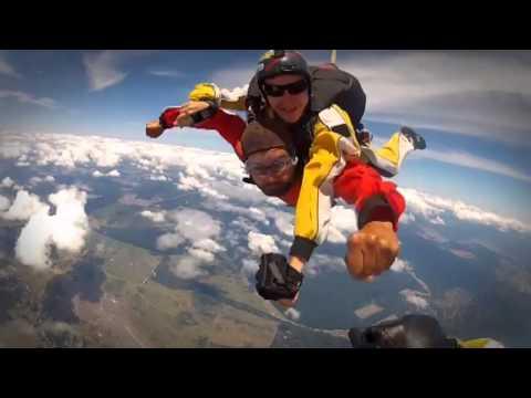 15,000 Feet Skydive Over Lake Taupo, New Zealand