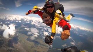 15,000 feet Skydive over Lake Taupo, New Zealand
