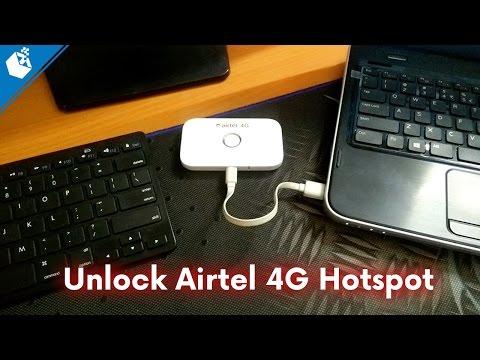 Unlock Airtel 4G Hotspot E5573s-606...