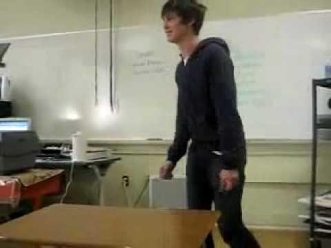 Logan Lerman Dance At School.mp4