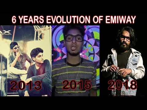6 Years Evolution of Emiway Bantai