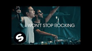 Смотреть клип R3Hab & Headhunterz - Won'T Stop Rocking