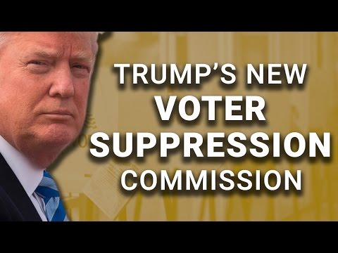 "Trump ""Commission on Election Integrity"" Run By Voter Suppressor"