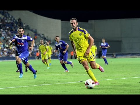 Maccabi Petah Tikva - Maccabi Tel Aviv 0:3 - Prica score for Tel Aviv, 14.9.14