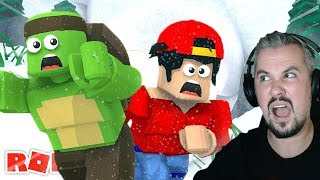CAN WE SURVIVE THE AVALANCHE CHALLENGE - ROBLOX w/ Ropo
