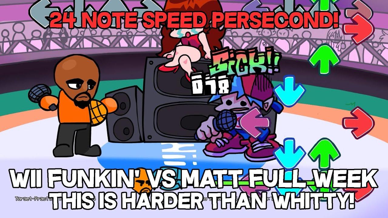 Last Phase So Harder!   Friday Night Funkin Mod Showcase Wii Funkin' VS Matt FULL WEEK (HARDER)