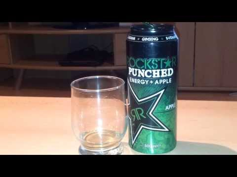 Rockstar Punched Energy +Apple Review [German]
