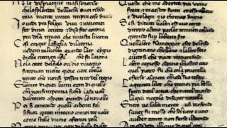 PROGETTO DANTE 2021 - DANTE IN PILLOLE #2 - I manoscritti?