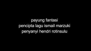 lagu payung fantasi lirik