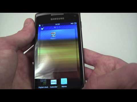 Samsung S8600 Wave 3 menu and features