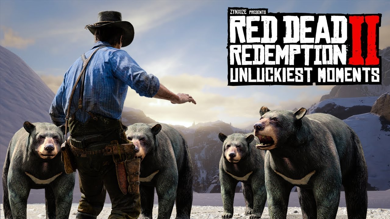 When Red Dead Redemption 2 Hates You #3 (RDR2 Unlucky Moments) thumbnail
