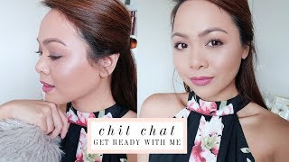Chit Chat Get Ready With Me ♡ Lip Injections? Fall Decor, House Updates, Trips and more!