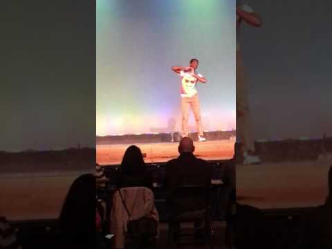2017 Mr. Pennsbury Pageant - Anthony Austin (talent)