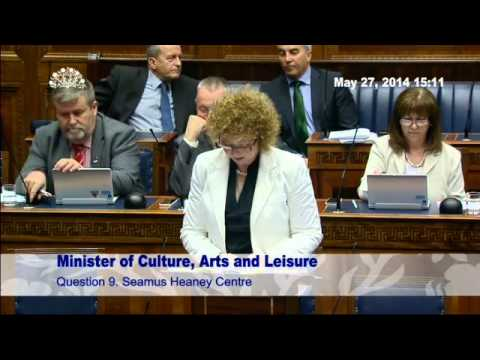 Question Time: Culture, Arts and Leisure 27 May 2014