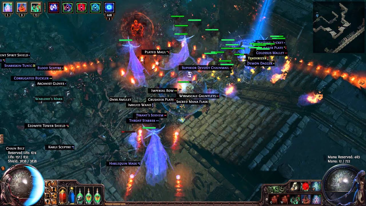 Path Of Exile Life Summoner Build