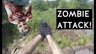 Airsoft Sniper Gameplay - ZOMBIE ATTACK