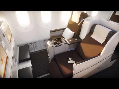 Royal Brunei Airlines B787 Dreamliner - Business Class