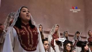 NO COMMENT  Սուրբ Զատկի պատարագը Նյու Յորքի Սբ  Վարդան եկեղեցում