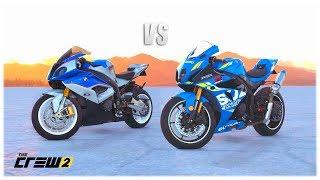 The Crew 2 - Suzuki GSX-R1000R vs BMW S1000RR