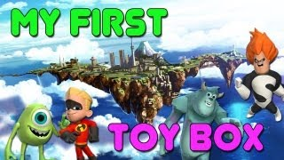 Disney Infinity: My First Toy Box Build - Laying Down The Foundation - Build 1