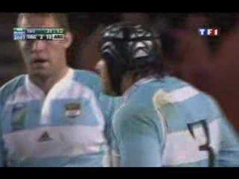2eme Essai Argentin Hasan (Argentine France petite finale)