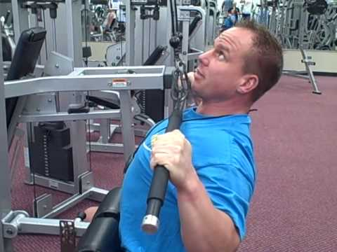 Proper Lat Pulldowns with Mike Neumann - YouTube