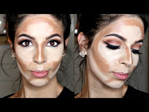 how-to-cream-contour-&-highlight-drugstore-products