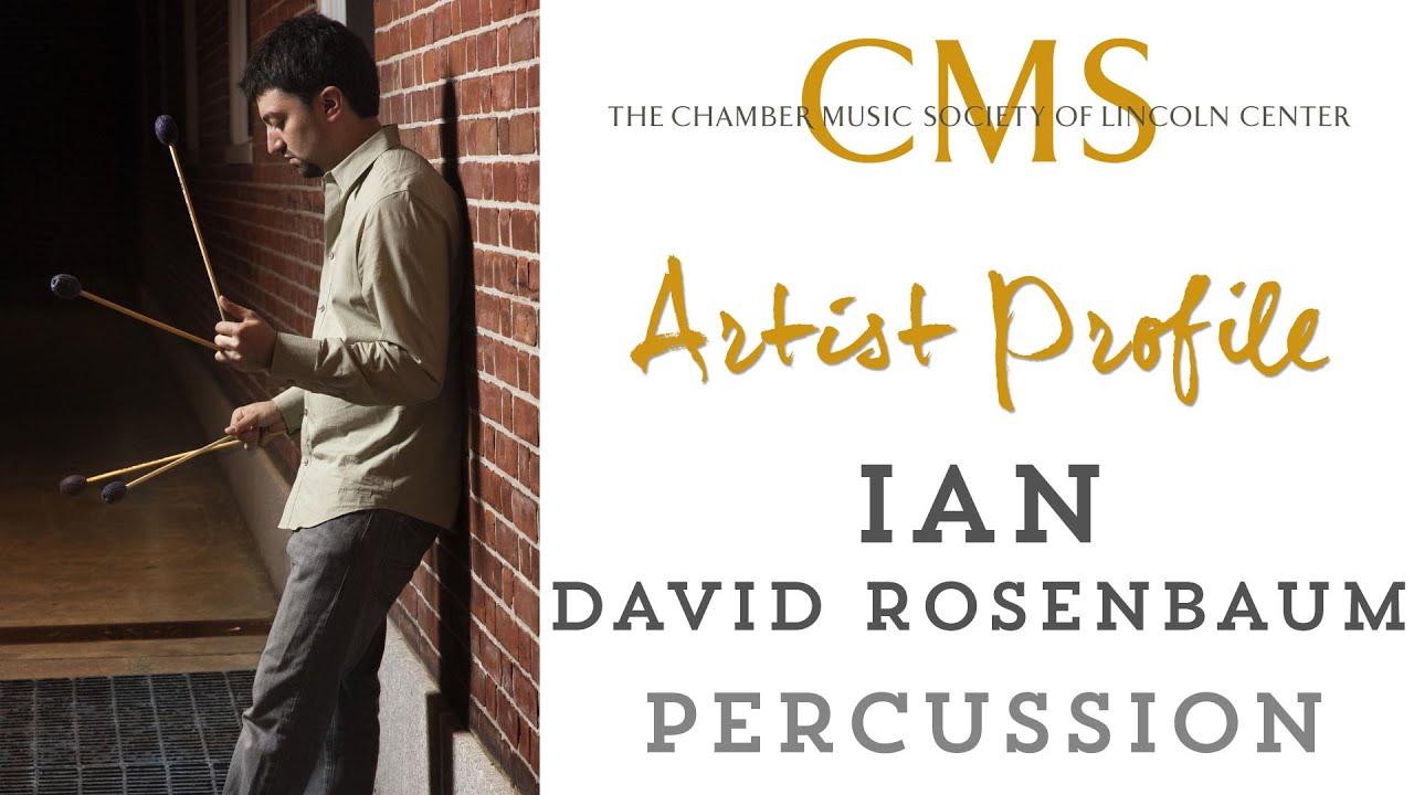 Ian Rosenbaum  Artist Profile - December 2013