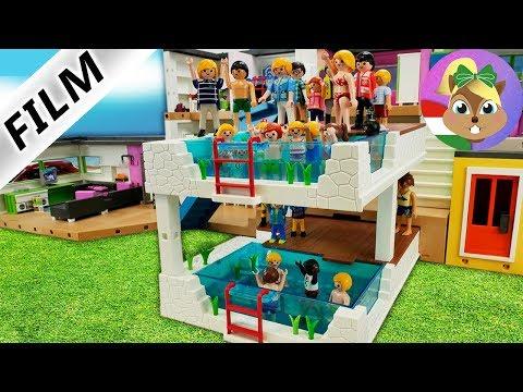 Playmobil Film / Dupla medence a luxusvillában. Őrült, új medence a Vogel családnak.
