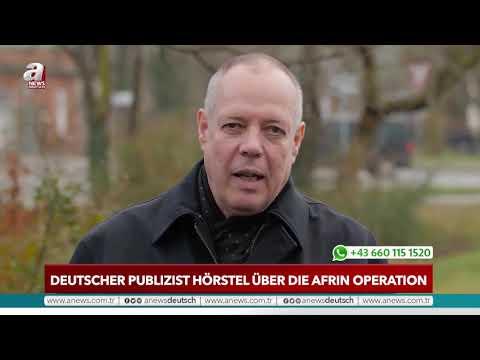 Deutscher Publizist Hörstel über die Afrin Operation |A NEWS DEUTSCH