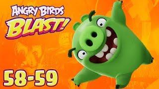 Angry Birds Dream Blast - Rovio Entertainment Oyj Level 58-59 Walkthrough