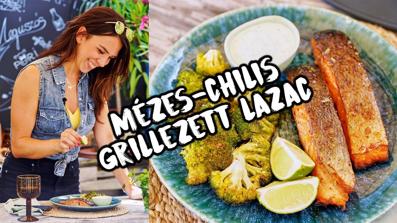 MÉZES-CHILIS lazac brokkolival 🌶️ 🍯🔥