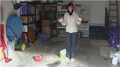 Housekeeping Tips : How to Clean Up a Small Gasoline Spill
