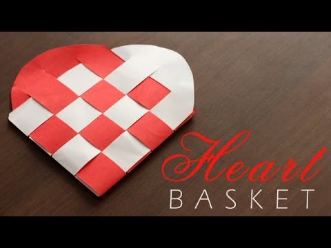 DIY : Heart Basket